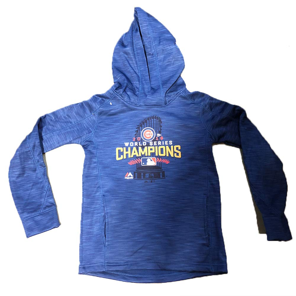 Outerstuff Chicago Cubs Youth 2016 World Series Champions Locker Room Sweatshirt