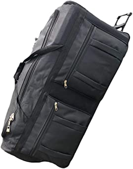 Gothamite 36-inch Rolling Duffle Bag with Wheels