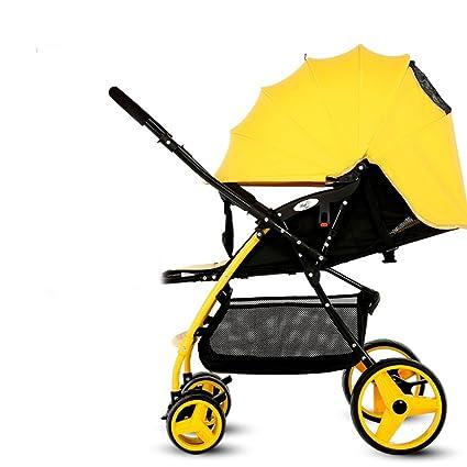 El carrito de bebé puede sentarse y mentir Paisaje alto ...