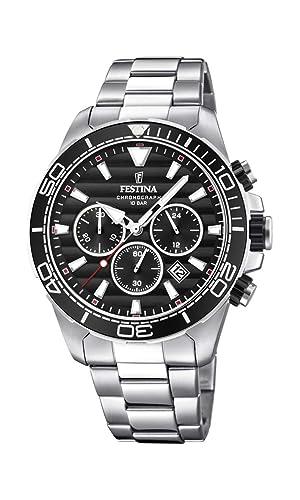 Amazon.com: Reloj hombre Festina – f20361/4 – Cronógrafo ...