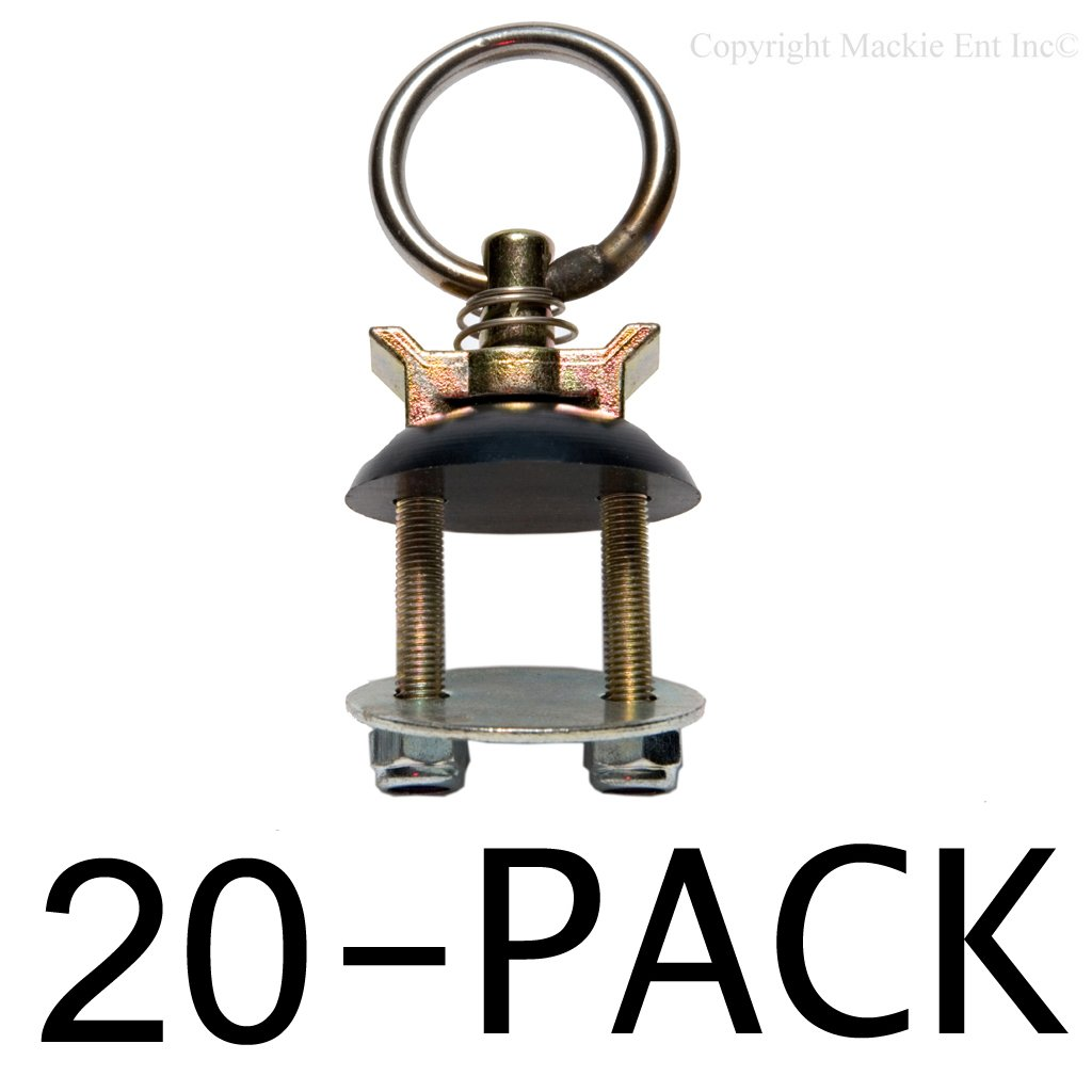 Ancra Tiedowns Secur-it 3,000 lb. Capacity 40890-10 Tie Down - 20 Pack by Fittings for Aluminum Track-Multi Packs (Image #1)