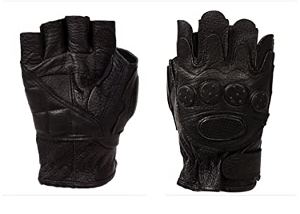 Amazon com : Comfspo Hot Sale Custom Half Finger Leather Bicycle