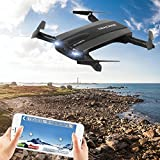 USHOT JXD 523W Altitude Hold HD Camera WIFI FPV RC Quadcopter Drone Selfie Foldable- Drones / Drone Charger / Quadcopter Drone Batteries / RC Helicopter Parts /