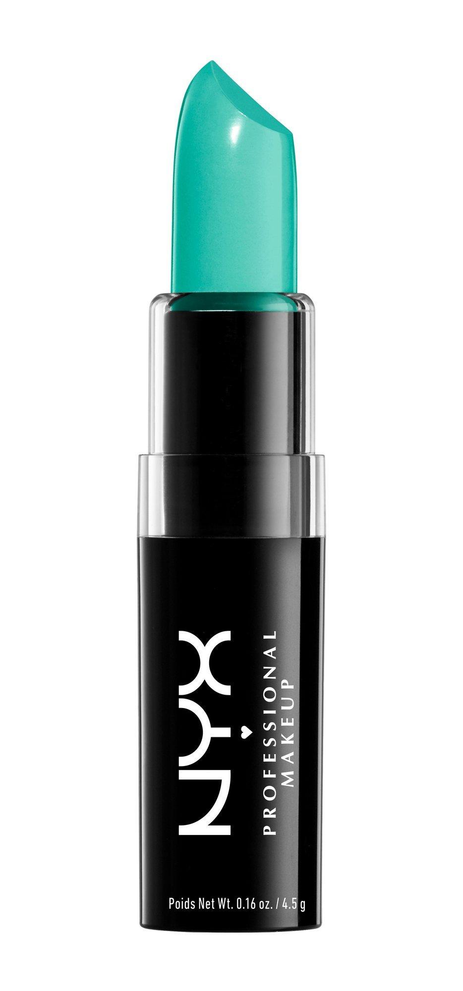 """NYX Macaron Pastel Lippies Lipstick - Pistachio : MALS06 """"Mint Green"""" 0.16 oz."""