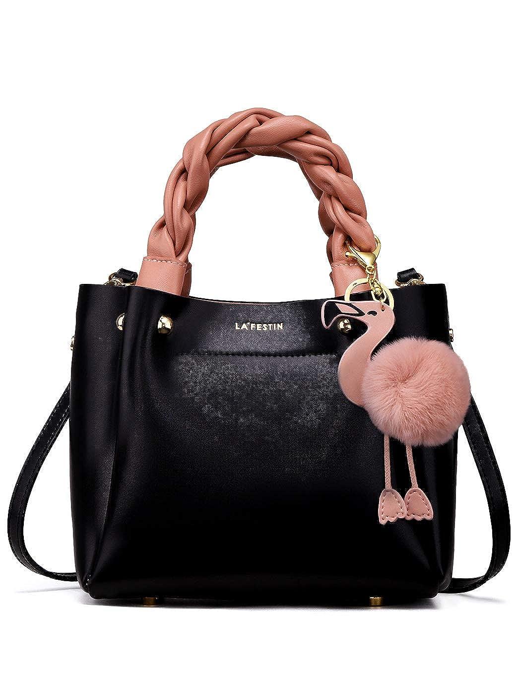 35eaaed35adc LA FESTIN Designer Fashion Shoulder Tote bag Handbags in Genuine Leather