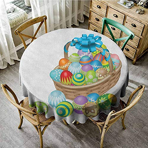 Four Activity Milliken - Round Tablecloth Birthday Party 40
