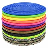 GOLBERG Nylon Paramax Utility Cord - Choose from 1/4 inch or 5/16 inch Diameter - Available in 5 Lengths and 20+ Colors