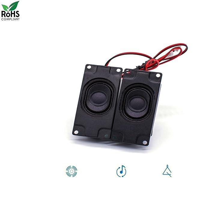 Swvzwy Mini Imán de Audio Raspberry Pi y Bocina Arduino 3 Watt 8 Ohm JST: Amazon.es: Electrónica