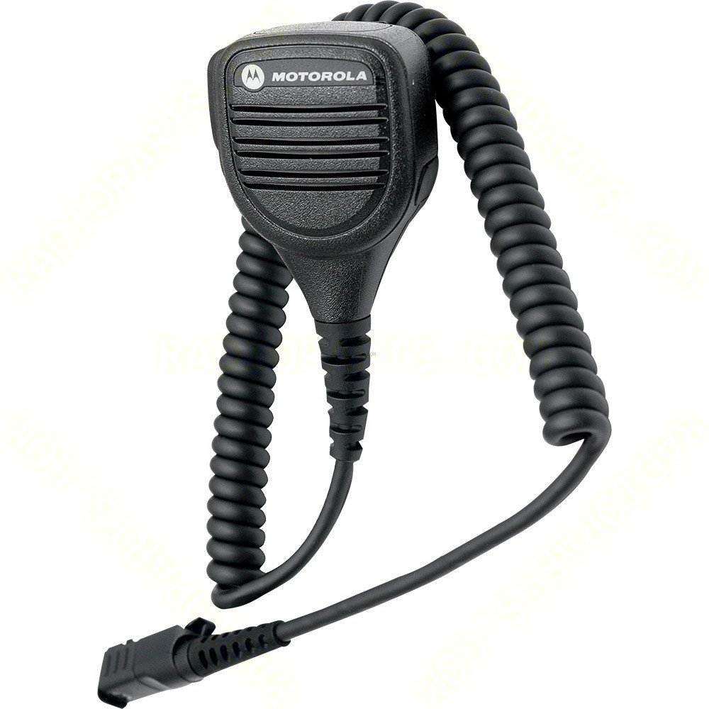 Motorola PMMN4071A Impres Remote Speaker Microphone with Noise-Cancelling Directional (Black)