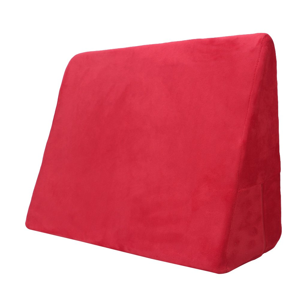 Red ❤Sponge Sofa Pillows Cushion Adult Bed Cube Wedge Pillow Toys