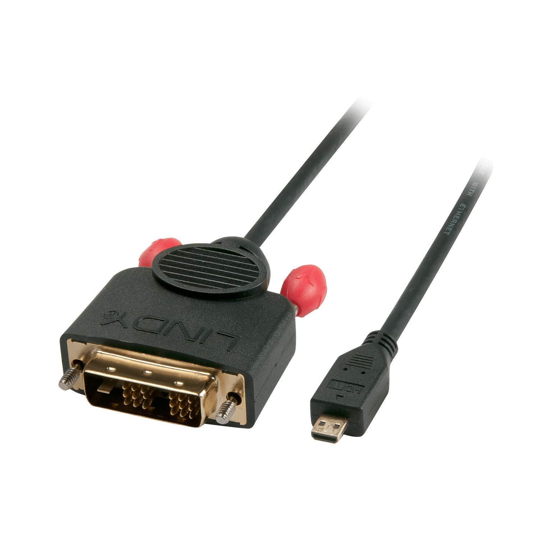 Cavo Micro HDMI a DVI-D Maschio//Maschio 1m