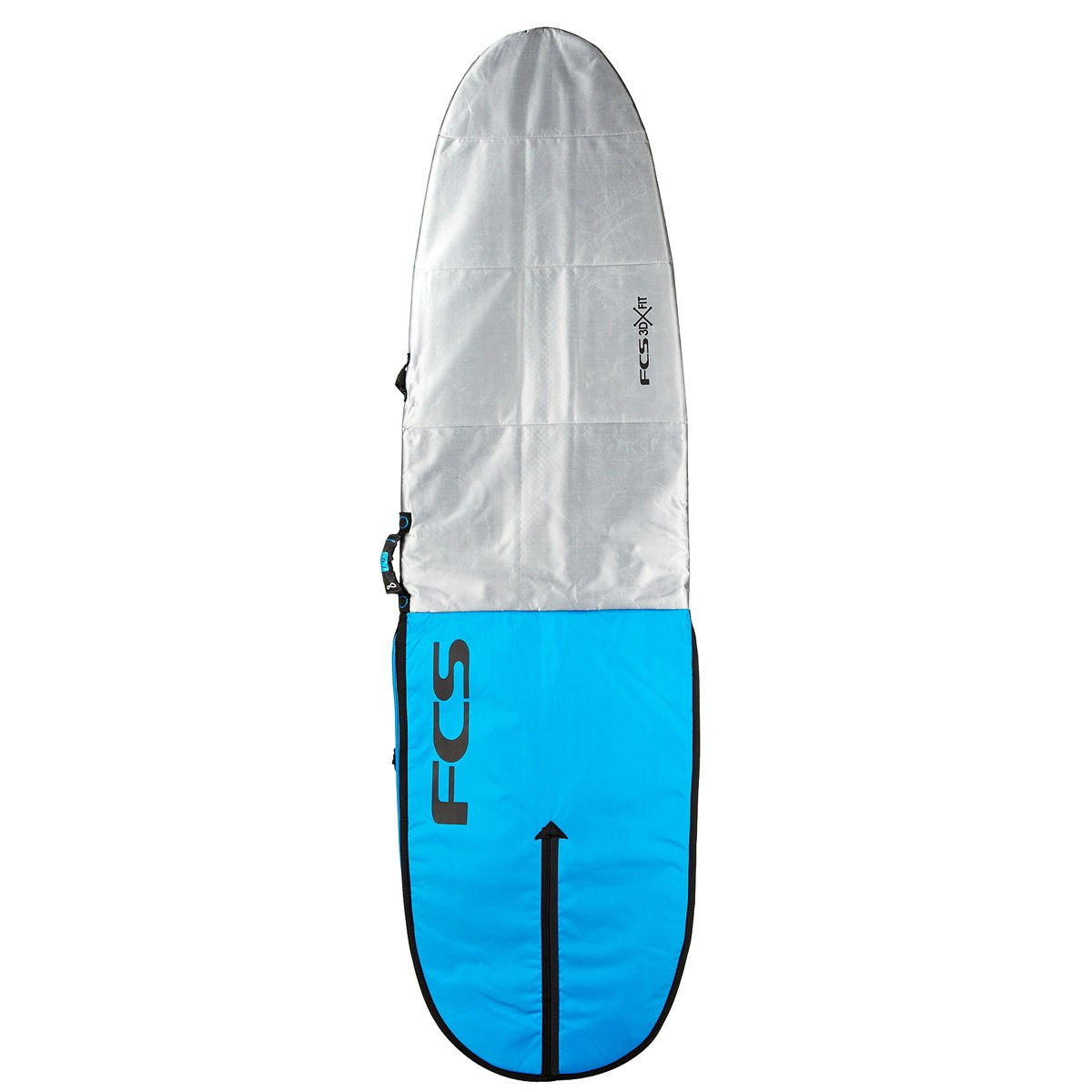 FCS 3DxFit Dayrunner Funboard Surfboard Day Bag - Pro Blue - 80 by FCS: Amazon.es: Deportes y aire libre