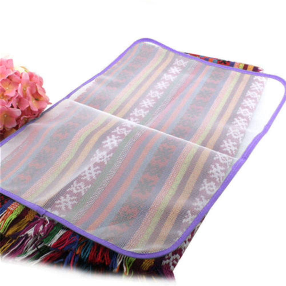 TOBABYFAT Ironing Blanket Ironing Mat, Portable Ironing Pad Home Large Ironing Board Cover Protective Press Mesh Cloth Iron Heat Resistant for Ironing Cloth Protectors