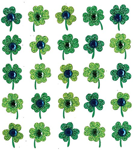 Jolees Spring - Nceonshop(TM) Jolee's Boutique Spring/Easter Stickers Clover Repeats E5020532