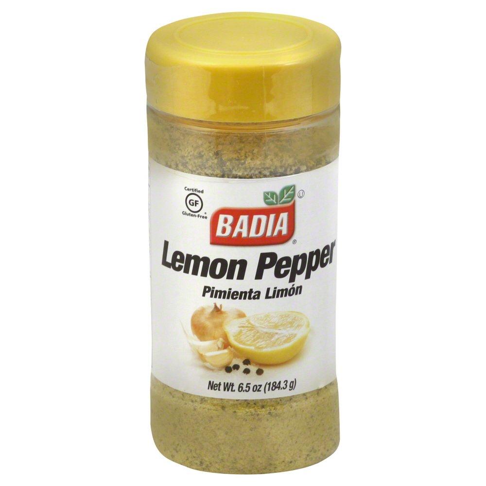 Badia Lemon Pepper Seasonings, 6.5 Ounce - 12 per case