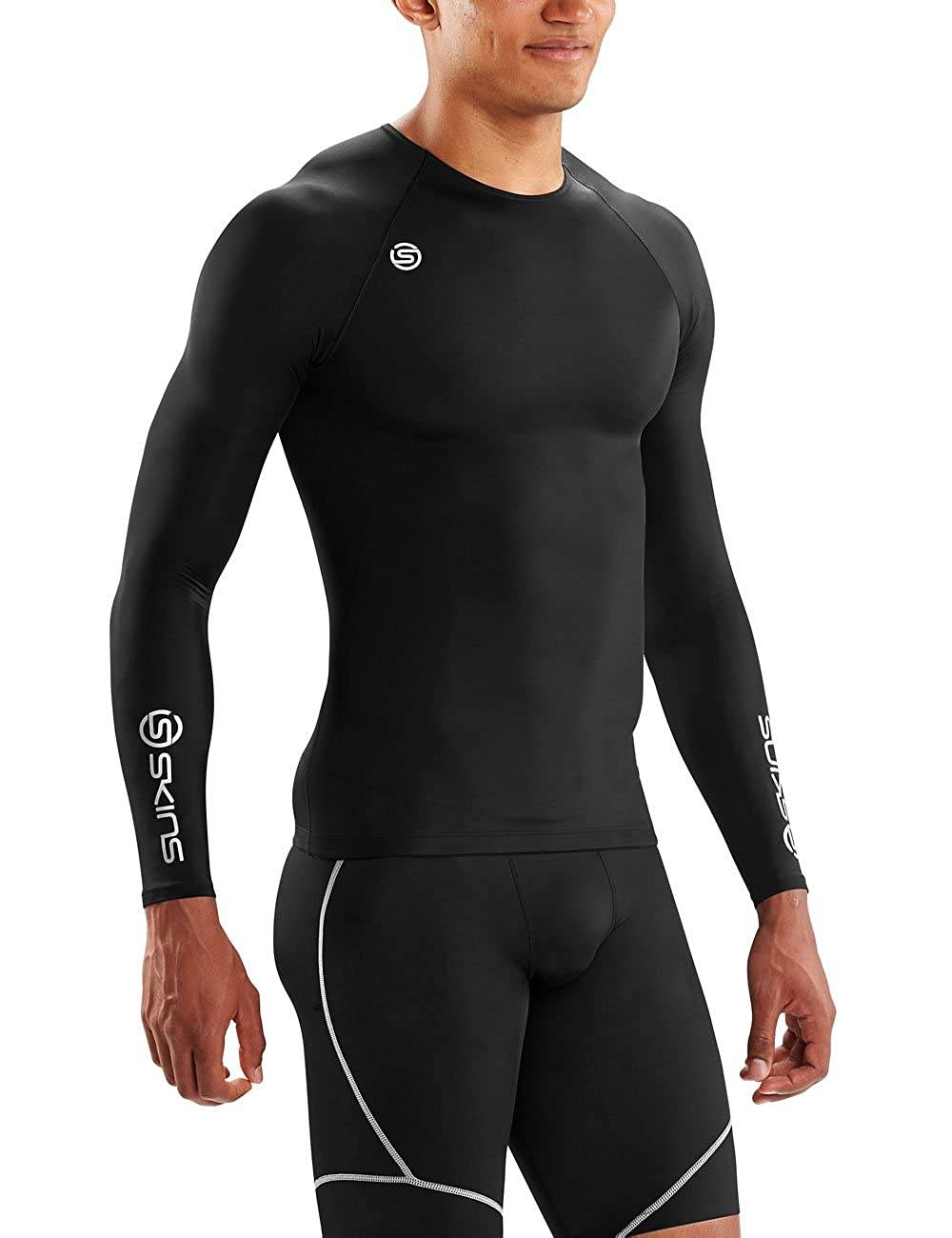 0ea0236a0a8 Skins DNAmic Team Compression Long Sleeve Top  Amazon.co.uk  Sports    Outdoors