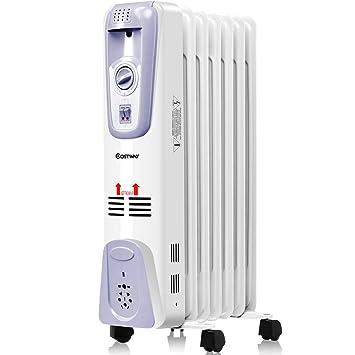 Amazon.com: COSTWAY - Radiador portátil con relleno de ...