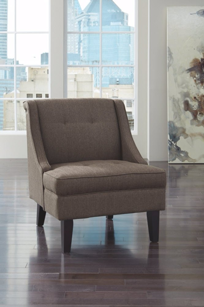 Ashley Furniture Signature Design -Clarinda Accent Chair – Wingback – Modern – Gray