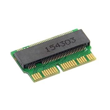 Chenyang - Tarjeta conversora de 12+16 pines de MacBook 2014 o 2015 a SSD M.2 NGFF M-Key para A1493, A1502, A1465, A1466