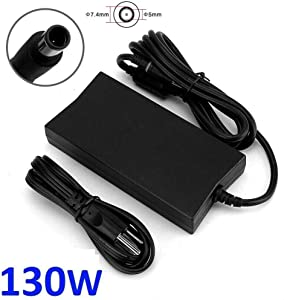 AC Charger for Dell XPS M1210 M1330 M140 M1530 M1710 14 L401X 15 L501X 15 L502x 17 L701X 17 L702X 17 M170 LA130PM121 DA130PE1-00 130W Laptop Power Supply Adapter Cord