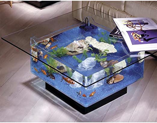 Amazon Com Midwest Tropical Fountain 25 Gallon Aqua Coffee Table