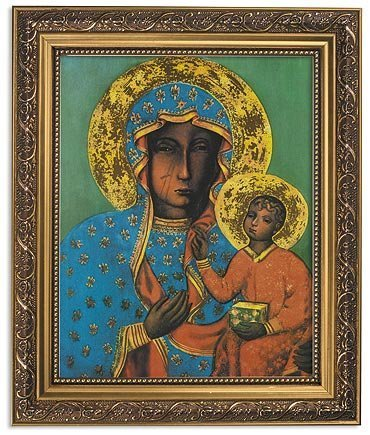Gerffert Collection Our Lady of Czestochowa Icon Framed Print 8x10