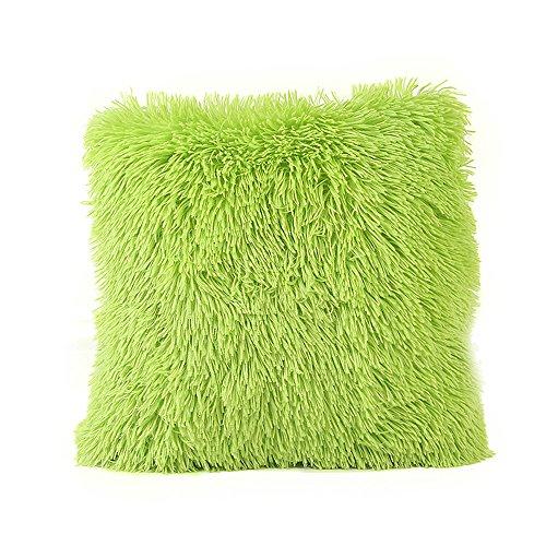 - Weiliru Fluff DecorativePillow Case,Mongolian Fluffy Pillow Cover Soft Plush Throw Pillow Case Cushion Cover Deluxe Home Decor Bed Sofa Car