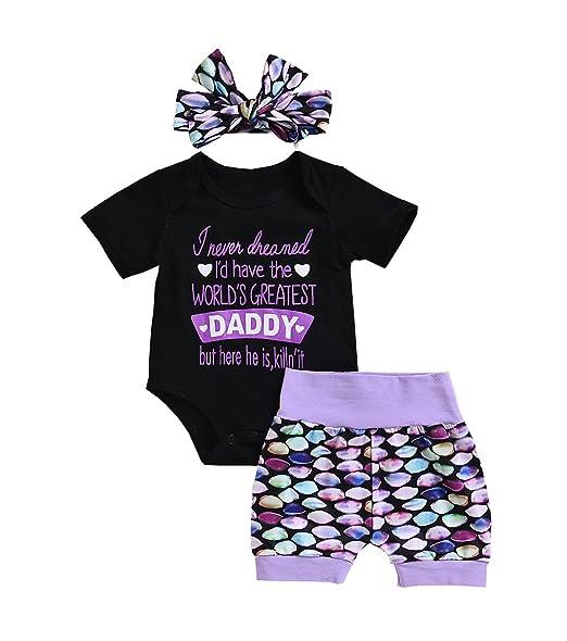 Amazon.com: Aliven bebé recién nacido niña feliz primer día ...