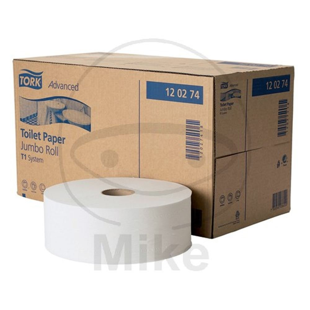 Tork Jumbo Toiletpapier 2-laags Wit T1 Advanced