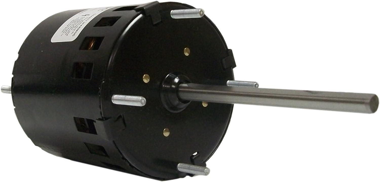 FASCO D130 Condenser Fan Motor,1//40HP,Stud,1550 rpm