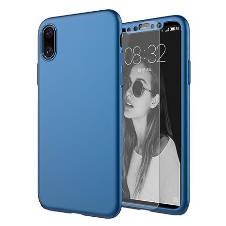 custodia blu iphone x