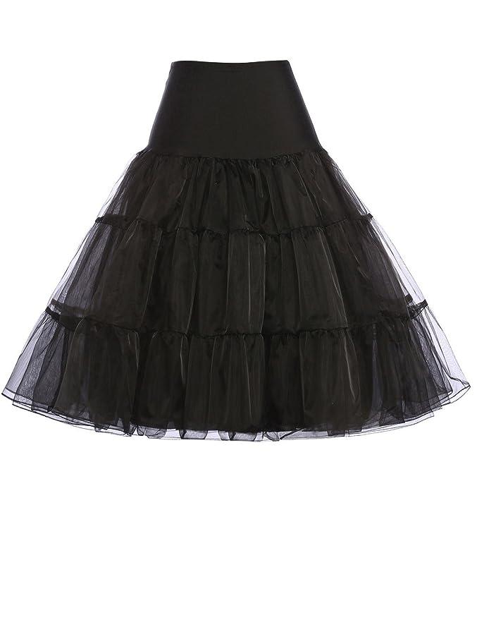 50er Jahre Petticoat Vintage Retro Reifrock Petticoat Unterrock für Wedding Bridal Petticoat Rockabilly Kleid in Mehreren Far