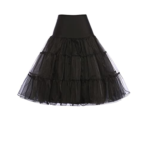 Grace Karin®Women Tutu Skirt Petticoat for 1950s Style Dress CL8922