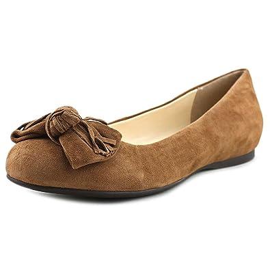 Jessica Simpson Women's Madian Ballet Flat Brown 6 ...