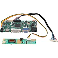 Kit de Placa de Controlador de Controlador de Pantalla LCD,Tablero de Conductor Soporte HDMI/DVI/VGA,1920x1080 Max Resolución,2pines/6pines/30pines Cable LVDS,Kit de Tablero de Conductor LCD(us)