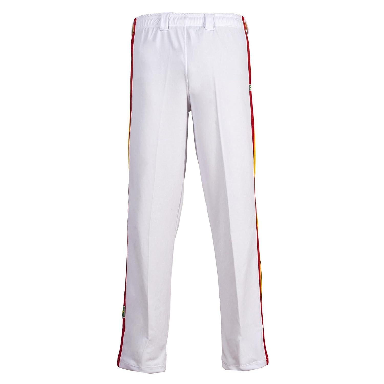 Unisex Amarillo Brasil Capoeira Artes Marciales Abada El/ástico Pantalones 5 Tallas
