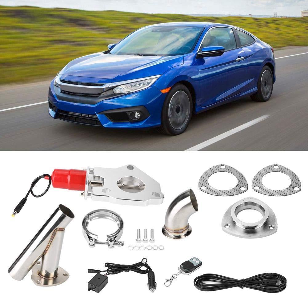 2 pouces en acier inoxydable YPipe Trousse d/échappement de modification de voiture t/él/écommande Qiilu Kit /échappement de voiture