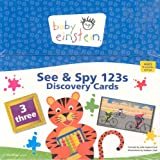 Baby Einstein: See and Spy 123s Discovery Cards, Julie Aigner-Clark, 1423100719