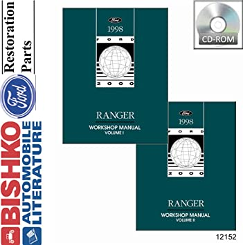 amazon com 1998 ford ranger shop service repair manual cd engine rh amazon com Ford Ranger Repair Diagrams 1998 ford ranger shop manual pdf