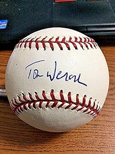 TOM WERNER SIGNED AUTOGRAPHED OML BASEBALL! Red Sox Chairman! RARE! - Autographed Baseballs