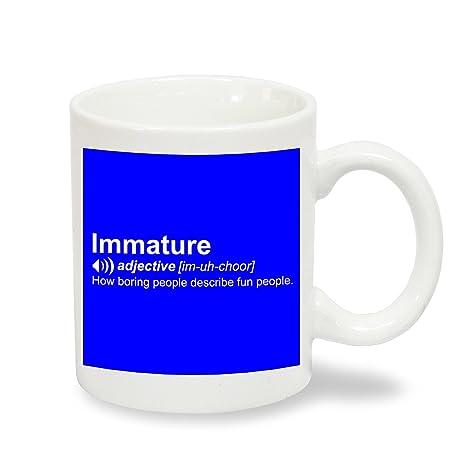 """Producto nuevo de alta definición """"inmaduro"""" carcasa diseño de taza de café -"""