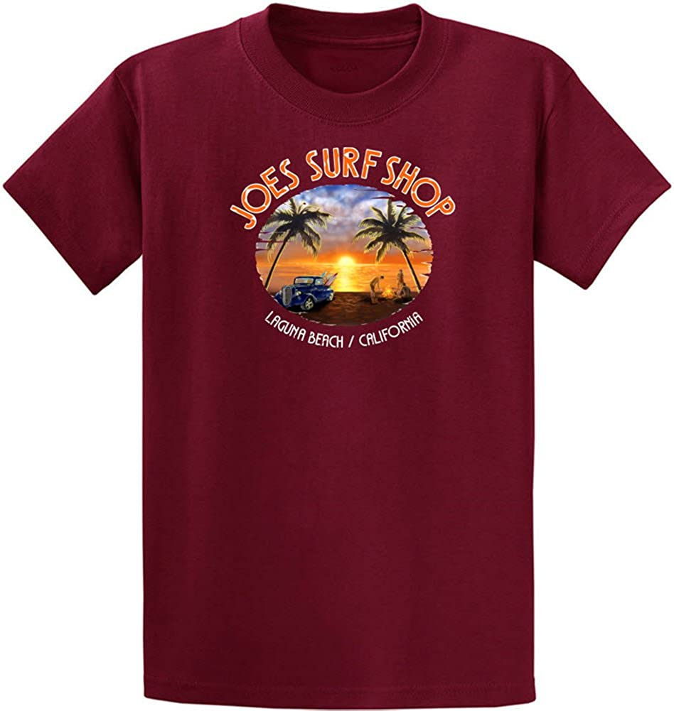 Joe's Surf Shop Graphic Heavyweight Cotton T-Shirts in Regular, Big and Tall
