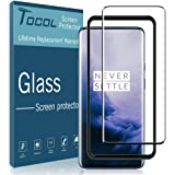 TOCOL Compatible with Oneplus 7 Pro, Tempered Glass Screen Protector HD Clarity with Easy Installation Tray
