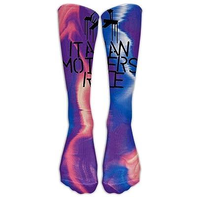 Italian Mothers Rule Football Soccer Socks Tube Sports Casual Long Socks