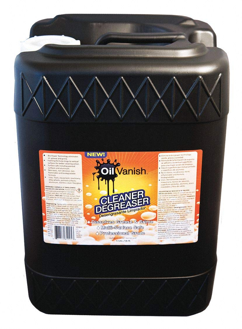 Cleaner/Degreaser, 5 gal. Pail, Unscented Liquid, Ready to Use, 1 EA