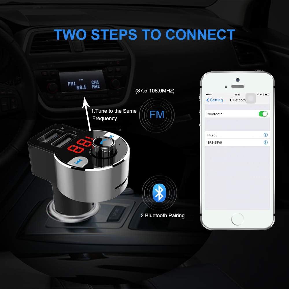 MP3-Player-Zubehr FM-Transmitter / Spannung Erkennung fr iPhone ...
