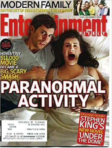 Entertainment Weekly November 6 2009 Paranormal Activity On Cover Stephen King S Under The Dome Excerpt Modern Family Elizabeth Mitchell V Jonathan Safran Foer Michael Jackson S This Is It Movie Multiple Authors Amazon Com Books