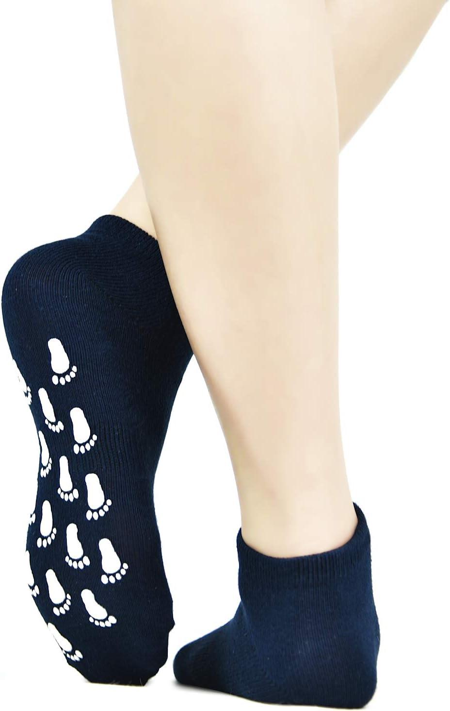 HYCLES Grippers Pilates Barre Sticky Socks Yoga Grips Ballet Non Slip Socks For Women//Girls