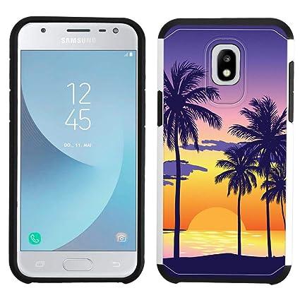 Amazon.com: Carcasa para Samsung Galaxy J7 2018 (plateada ...