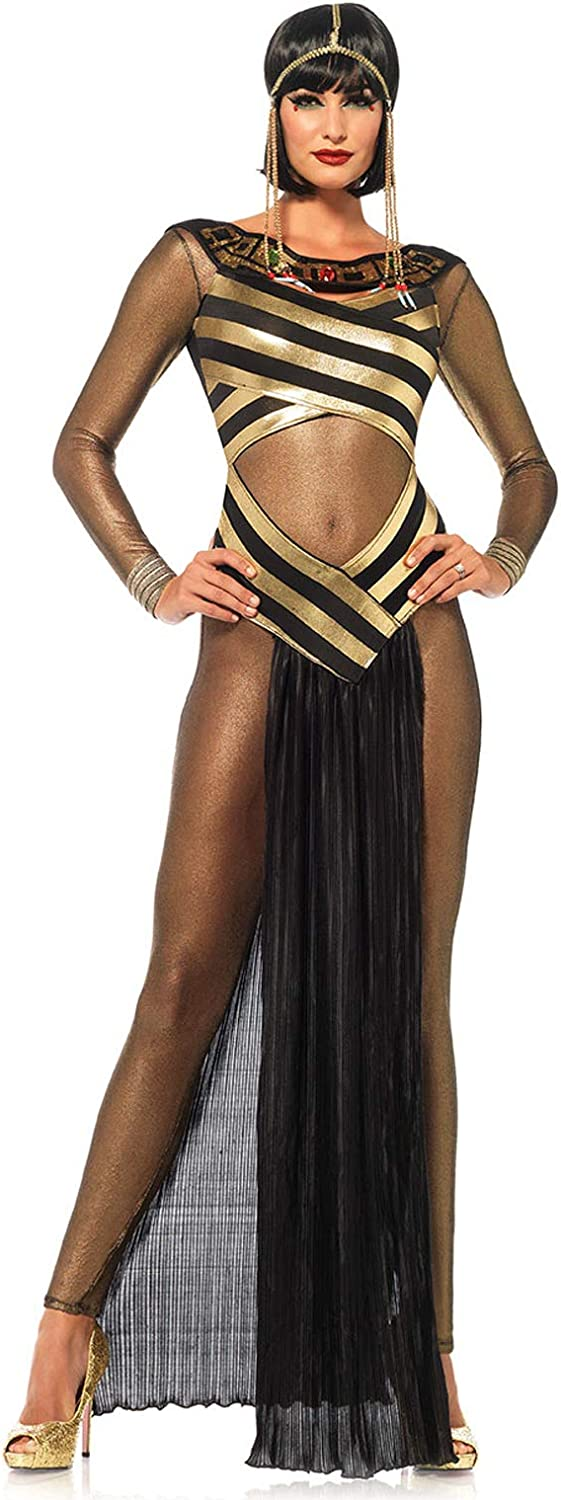 80s Costumes, Outfit Ideas- Girls and Guys Leg Avenue Womens Queen Cleopatra Costume $53.95 AT vintagedancer.com